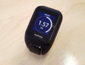 Tom Tom Spark Cardio - Tracker Km Anzeige