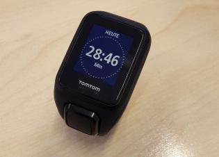Tom Tom Spark Cardio - Tracker Zeit Anzeige